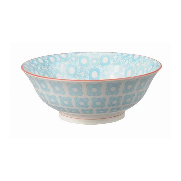 Porcelánová miska Soba Orient Blue, 21x7,8 cm