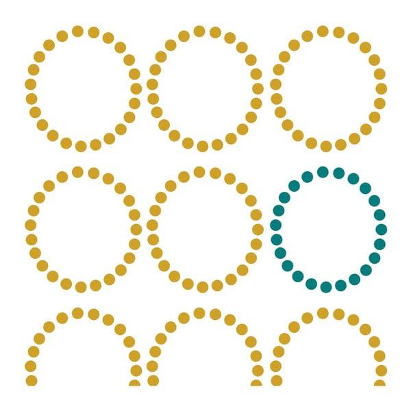 Povlak na peřinu Circles, 220x220 cm
