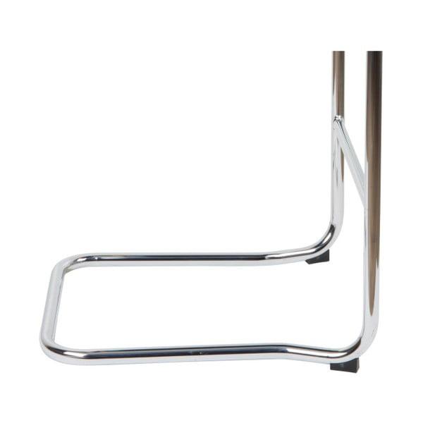 Světle šedá barová židle Zuiver Ridge Kink Rib