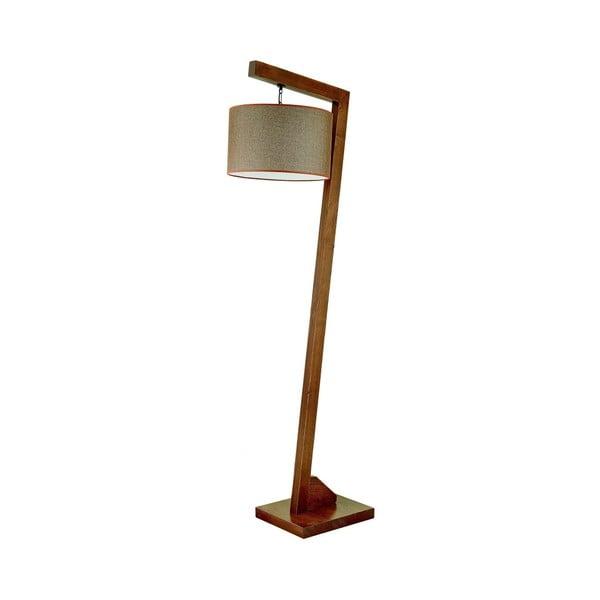 Stojací lampa z habrového dřeva Rüya