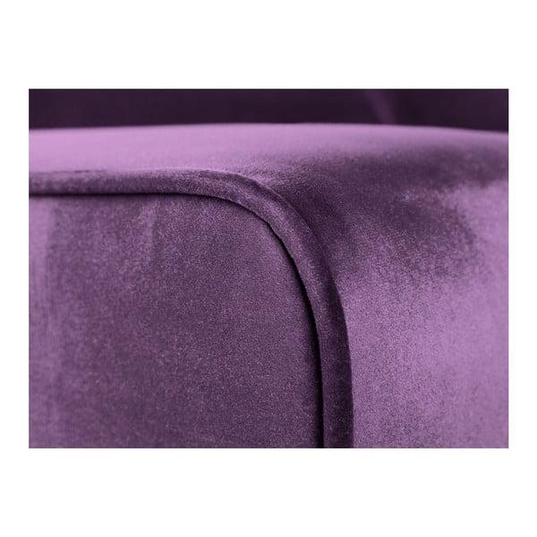 Fialová dvojmístná pohovka Cosmopolitan Design Denver