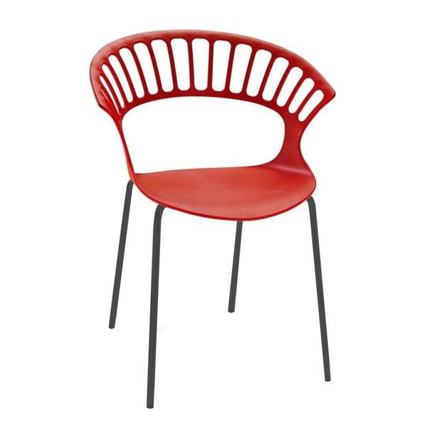 Židle Tiara, red