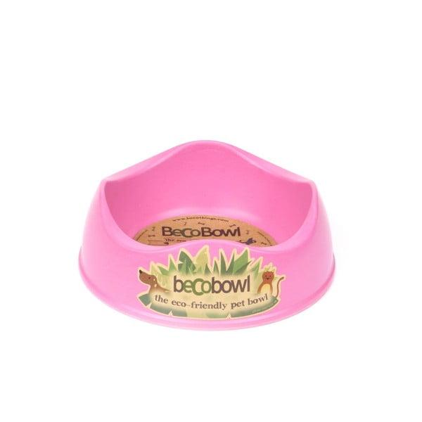 Psí/kočičí miska Beco Bowl 26 cm, růžová