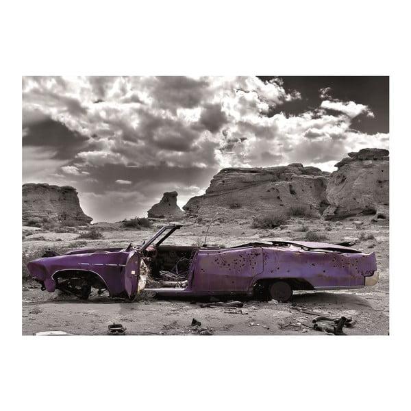 Tapeta Cadillac in Pink, 400x280 cm