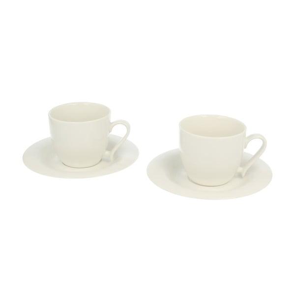 Sada 2 šálků s podšálky Duo Gift Bial, 200 ml