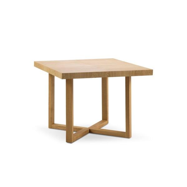 Rozkladací stôl z masívneho dubového dreva Windsor & Co Sofas Skardu, ø 100 cm