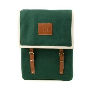 Zelený batoh Mödernaked Green Globby Canvas