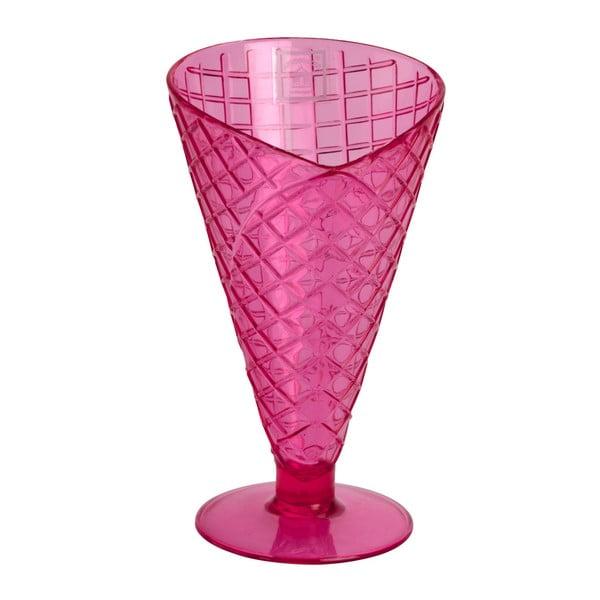 Różowy pucharek z tworzywa sztucznego Navigate Sundae Cone