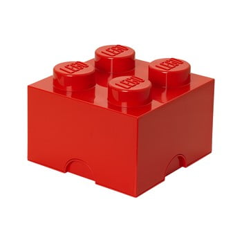 Cutie depozitare LEGO®, roșu imagine
