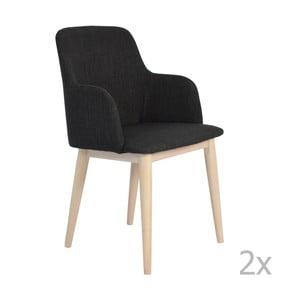 Černá židle RGE Edgar