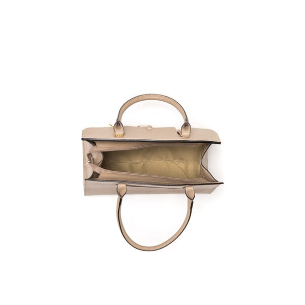 Kožená kabelka Renata Corsi 1080 světle hnědá