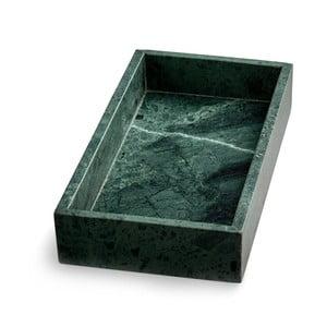 Tavă din marmură NORDSTJERNE, 15 x 30 cm, verde