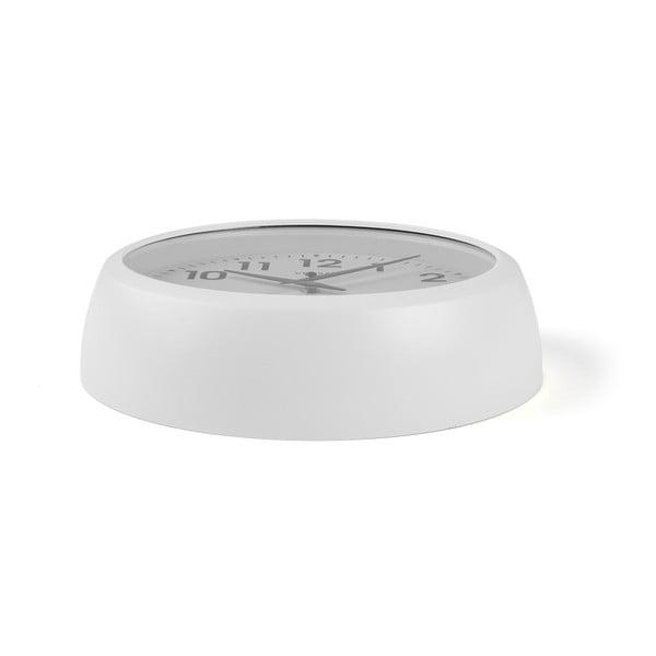 Nástěnné bílé kuchyňské hodiny Versa, ⌀30cm