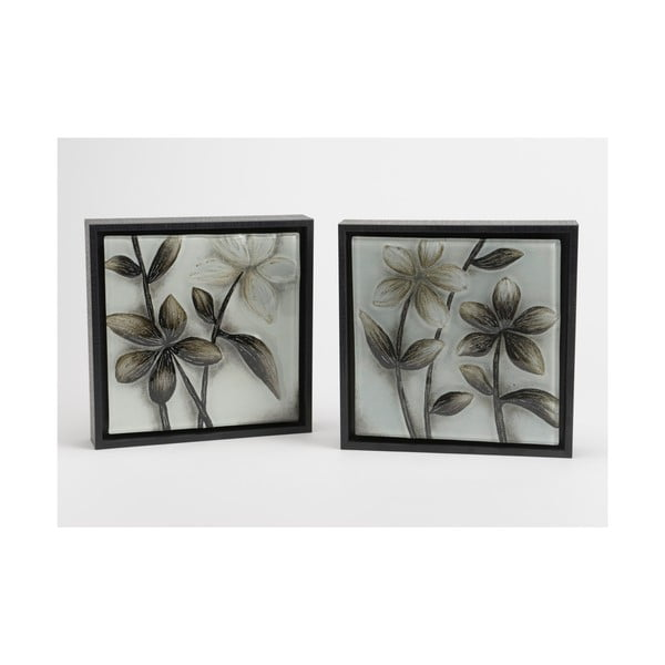 Sada 2 obrazů Black&White