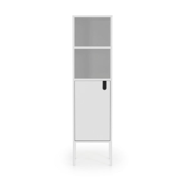 Bílá skříň Tenzo Uno, výška 152cm