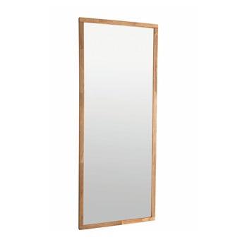 Oglindă cu ramă din lemn de stejar Rowico Gefjun de la Rowico