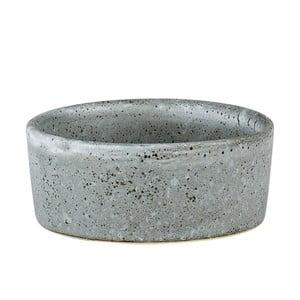 Šedá kameninová miska Bitz Mensa, průměr 7,5 cm
