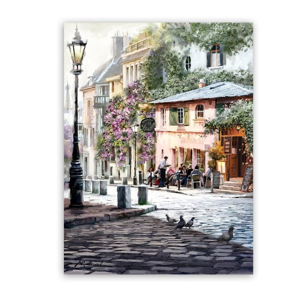 Obraz Styler Canvas Summer Corner, 60 x 80 cm