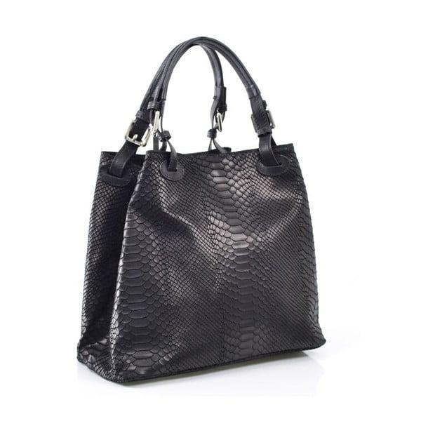 Kožená kabelka Ingrid, černá