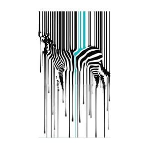 Pictură pe pânză Zebra, 70 x 100 cm