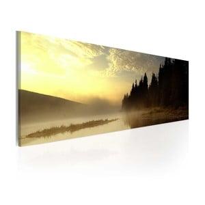Obraz na plátně Artgeist Fog, 120x40cm