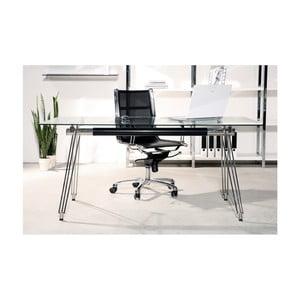Skleněná stolní deska Kare Design Clear, 80 x 160 cm