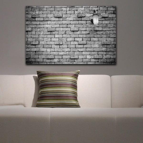 Obraz Black&White Brick,45x70cm
