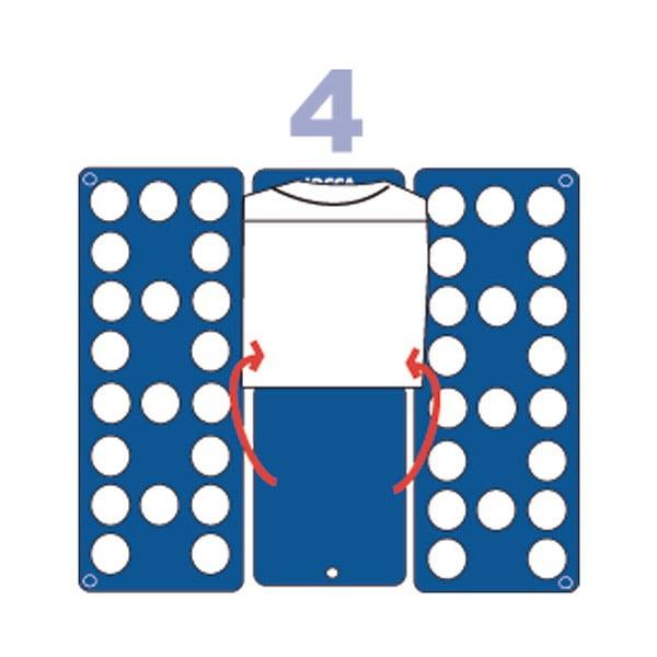 Modrá podložka na skládání triček Jocca