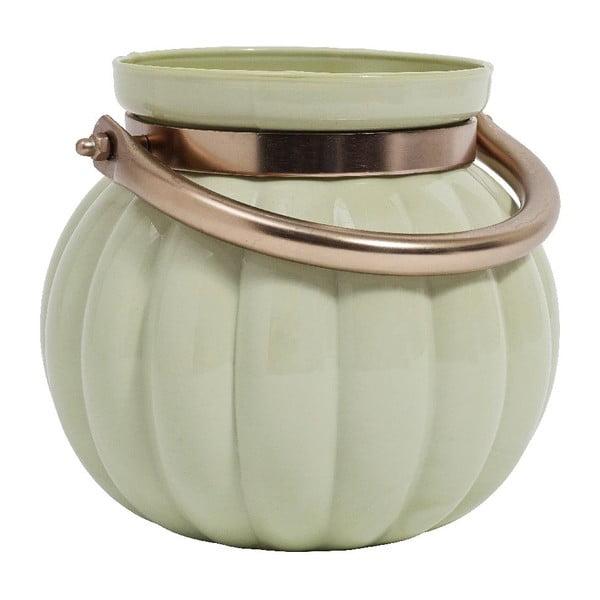 Váza Pumpkin Green M