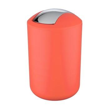 Coș de gunoi Wenko Brasil L, înălțime 31 cm, roșu corai imagine