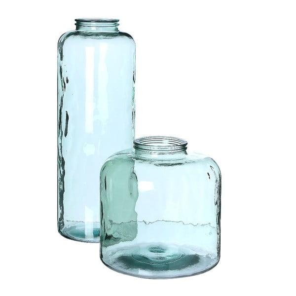 Skleněná váza Deco, 35x36 cm