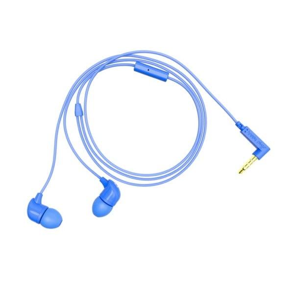 Sluchátka s nástavci Happy Plugs, modrá