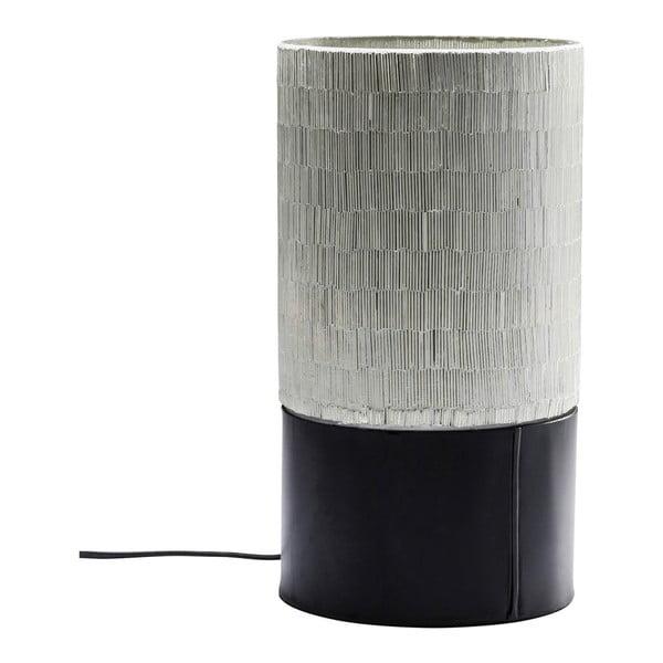 Černá stolní lampa Kare Design Coachella, výška 28 cm