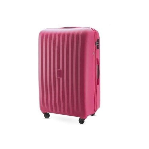 Kufr Travel PP 28', růžový