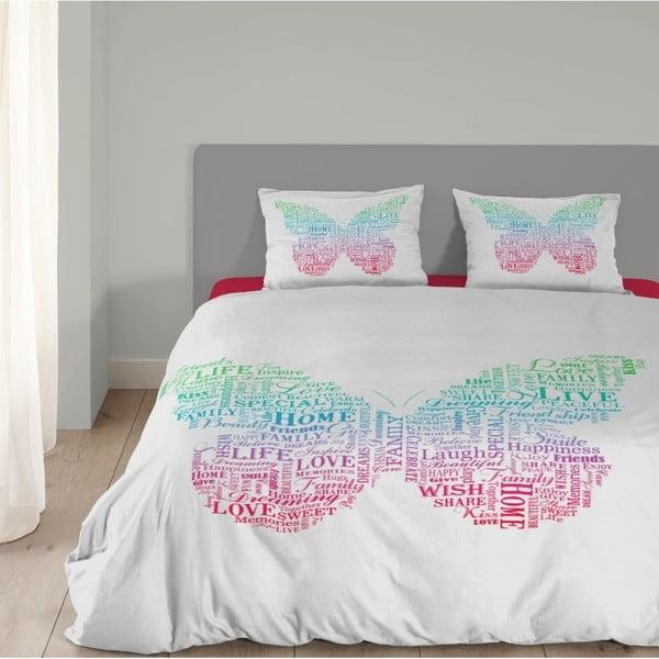 Bavlněné povlečení Müller Textiels Butterfly,140x200cm