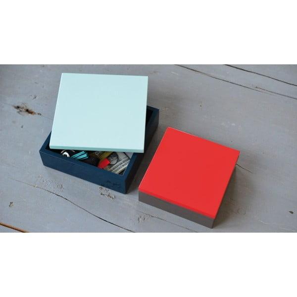 Dřevěný box Remember Blue