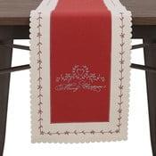 Napron InArt Merry Xmas, roșu/alb