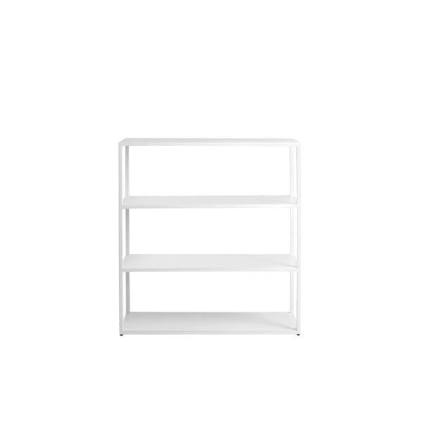 Bibliotecă Custom Form Hyller, înălțime 110 cm, alb
