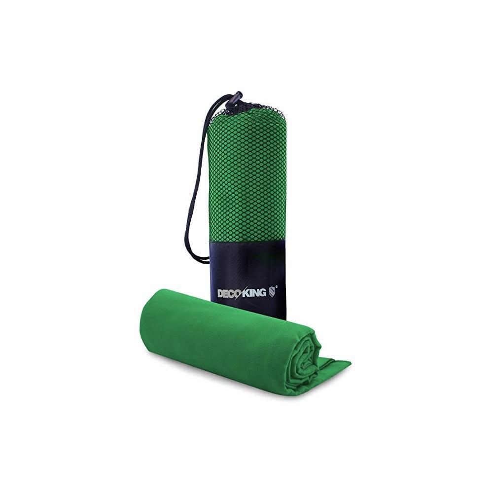 Set zelené osušky a ručníku DecoKing EKEA