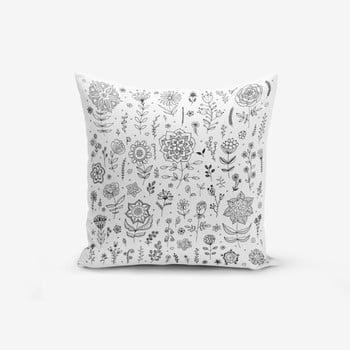 Față de pernă Minimalist Cushion Covers Flower, 45 x 45 cm imagine