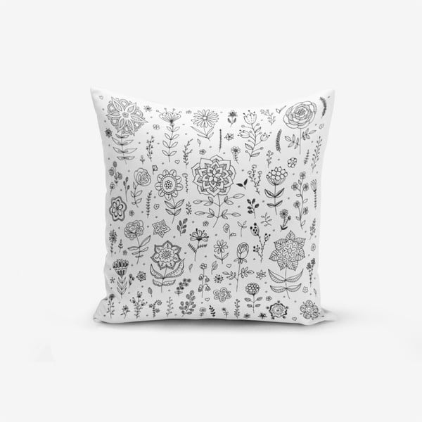 Față de pernă Minimalist Cushion Covers Flower, 45 x 45 cm
