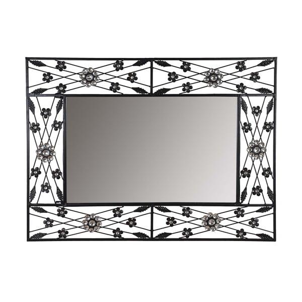 Nástěnné zrcadlo Baroque Flower, 80x60 cm