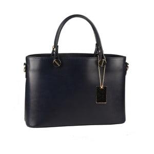 Modrá kožená kabelka Matilde Costa Banusa