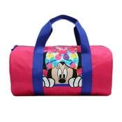 Růžová dětská sportovní taška Bagtrotter Minnie