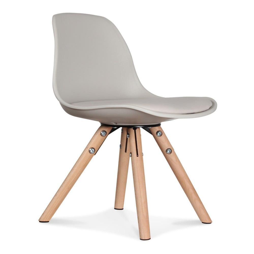 Sada 2 krémových židlí Opjet Paris Scandinave Chaise
