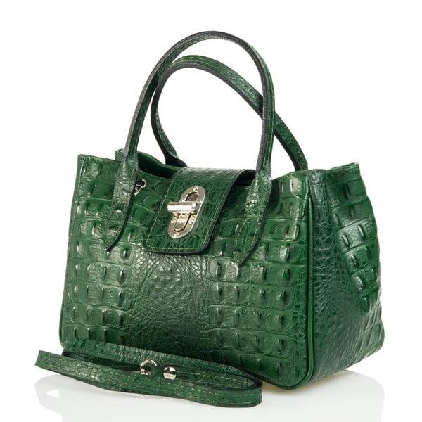 Kožená kabelka Laura, zelená