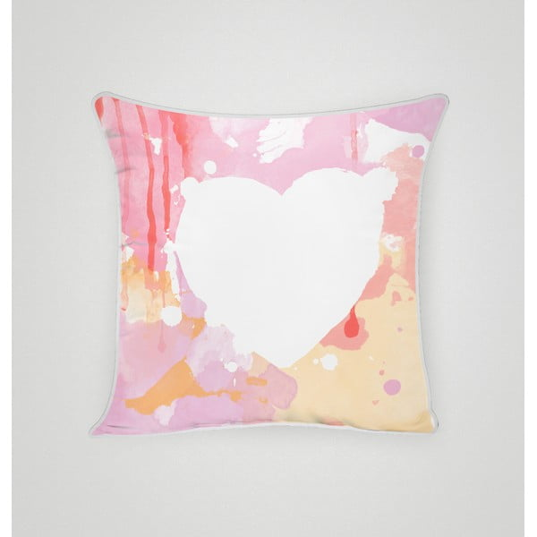 Povlak na polštář Pink Heart II, 45x45 cm