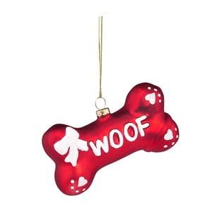 Vánoční závěsná ozdoba ze skla Butlers Woof