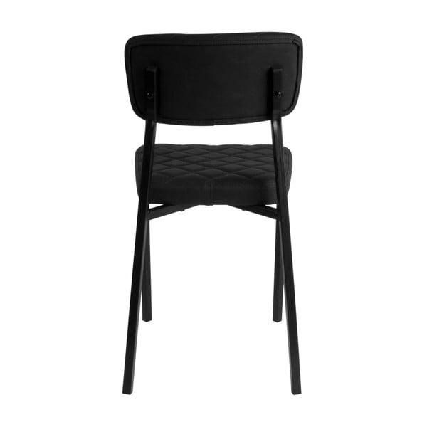 Černá židle Leitmotiv Retro