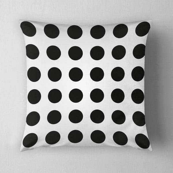 Polštář Big Black Dots, 43x43 cm